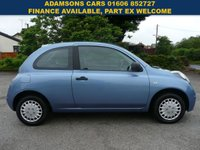 USED 2010 10 NISSAN MICRA 1.2 VISIA 3d 80 BHP One Owner,Long Mot,Recent Service,Great Little Runner