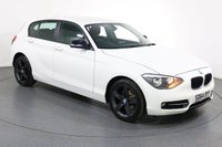 USED 2014 64 BMW 1 SERIES 1.6 114I SPORT 5d 101 BHP Demo and ONE LADY OWNER From New with 4 SERVICES RECORDED