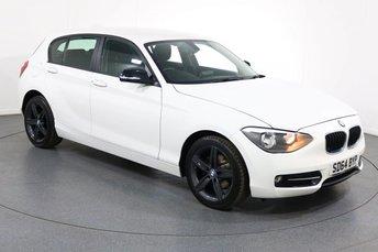 2014 BMW 1 SERIES 1.6 114I SPORT 5d 101 BHP £8995.00