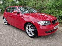 2010 BMW 1 SERIES 2.0L 116D SPORT 5d 114 BHP £5900.00