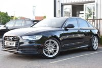 USED 2013 13 AUDI A6 2.0 TDI S LINE 4d AUTO 175 BHP Full Service & New Mot On Purchase