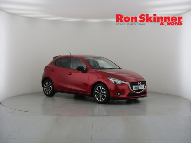 View our 2016 16 MAZDA 2 1.5 SPORT BLACK 5d 89 BHP