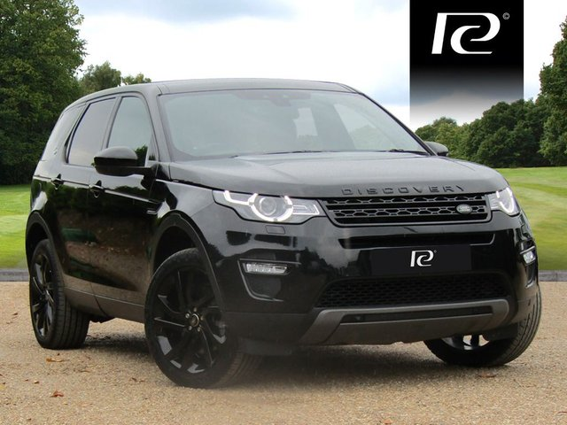 2018 67 LAND ROVER DISCOVERY SPORT 2.0 SD4 HSE BLACK 5d AUTO 238 BHP