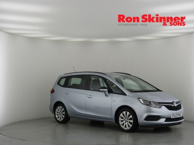 View our 2017 17 VAUXHALL ZAFIRA TOURER 1.6 DESIGN CDTI ECOFLEX S/S 5d 133 BHP