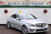 2011 MERCEDES-BENZ C CLASS 2.1 C220 CDI BLUEEFFICIENCY AMG SPORT ED125 2d 170 BHP £9000.00