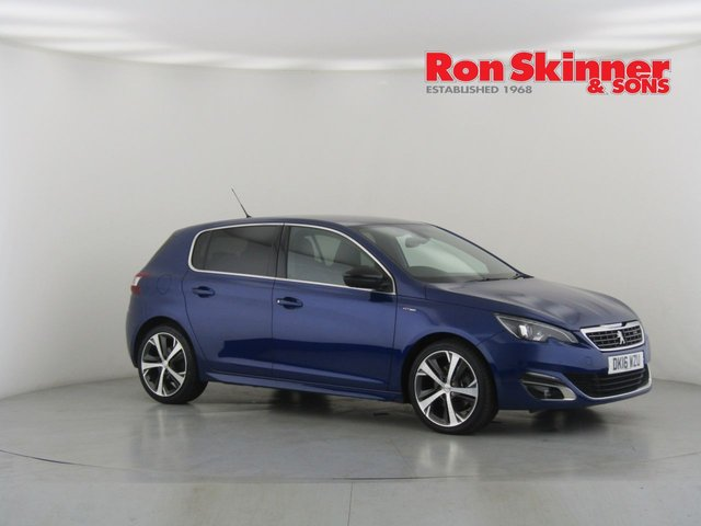 View our 2016 16 PEUGEOT 308 2.0 BLUE HDI S/S GT LINE 5d 150 BHP