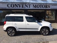 2014 SKODA YETI 2.0 OUTDOOR LAURIN AND KLEMENT TDI CR DSG 5d AUTO 138 BHP £12000.00