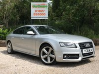 USED 2010 10 AUDI A5 2.0 SPORTBACK TDI QUATTRO S LINE 5dr Full Leather, PDC, Cruise