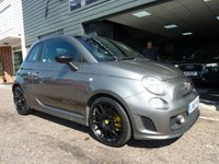 USED 2015 65 ABARTH 500 1.4 CUSTOM 3d 133 BHP