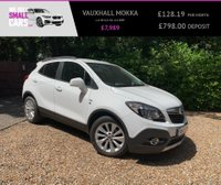 USED 2015 15 VAUXHALL MOKKA 1.6 SE S/S 5d 113 BHP 2 OWNERS F/S/H PARKING SENSORS FULL HEATED BLACK LEATHER AUX