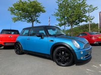 USED 2004 MINI HATCH COOPER 1.6 COOPER 3d 114 BHP SERVICE HISTORY, 12 MONTHS MOT, HALF LEATHER, AIR CON, CLEARANCE VEHICLE
