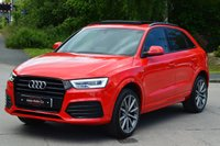 USED 2015 15 AUDI Q3 2.0 TDI QUATTRO S LINE PLUS 5d AUTO 184 BHP BIG BIG SPEC INCLUDING PAN ROOF.