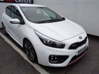 USED 2015 15 KIA CEED 1.6 GT TECH 5d 201 BHP £216 A MONTH SATELLITE NAVIGATION KIA WARRANTY UNTIL 2022 PARKING SENSORS LEATHER TRIM CLIMATE CONTROL FULL SERVICE HISTORY