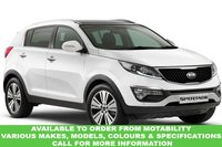 USED 2015 65 KIA SPORTAGE 1.6 1 ISG 5d 133 BHP This VEHICLE CAN BE ORDERED FROM MOTABILITY