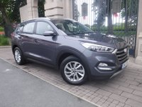 USED 2017 17 HYUNDAI TUCSON 1.7 CRDI SE NAV BLUE DRIVE 5d AUTO 139 BHP ****FINANCE ARRANGED****PART EXCHANGE WELCOME***1OWNER*FSH*WARRANTY*NAV*CRUISE*LANE KEEP*AUX