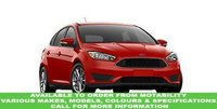USED 2016 16 FORD FOCUS 1.6 TITANIUM 5d AUTO 124 BHP This VEHICLE CAN BE ORDERED FROM MOTABILITY
