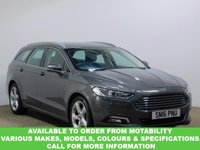USED 2016 16 FORD MONDEO 2.0 TITANIUM 5d AUTO 238 BHP This VEHICLE CAN BE ORDERED FROM MOTABILITY
