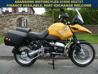 USED 2002 52 BMW R SERIES 1130cc R 1150 GS  Well Maintained,Panniers,New Mot,Excellent Condition