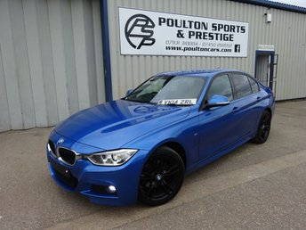 2014 BMW 3 SERIES 3.0 330D XDRIVE M SPORT 4d AUTO 255 BHP + LEATHER + FULL SPEC £14980.00