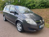 USED 2010 10 VAUXHALL ZAFIRA 1.8 EXCLUSIV 5d 140 BHP **LOVELY CONDITION**SUPERB DRIVE**LONG MOT**