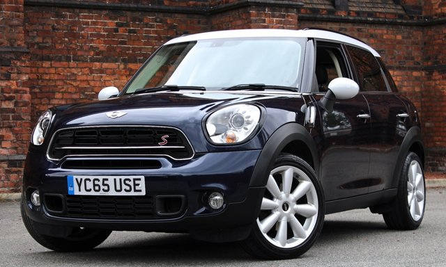 2015 65 MINI COUNTRYMAN 2.0 COOPER SD 5d AUTO 141 BHP [ SATNAV CHILI ]