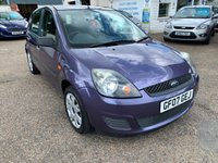 2007 FORD FIESTA 1.4 STYLE CLIMATE 16V 5d 78 BHP £SOLD