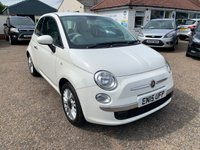 USED 2015 15 FIAT 500 1.2 POP STAR 3d 69 BHP FULL SERVICE HISTORY