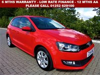 USED 2014 14 VOLKSWAGEN POLO 1.2 MATCH EDITION TDI 5d 74 BHP All retail cars sold are fully prepared and include - Oil & filter service, 6 months warranty, minimum 6 months Mot, 12 months AA breakdown cover, HPI vehicle check assuring you that your new vehicle will have no registered accident claims reported, or any outstanding finance, Government VOSA Mot mileage check. Because we are an AA approved dealer, all our vehicles come with free AA breakdown cover and a free AA history check.. Low rate finance available. Up to 3 years warranty available.