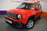 USED 2016 66 JEEP RENEGADE 2.0 M-JET LONGITUDE 5d 138 BHP