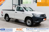 USED 2017 17 TOYOTA HI-LUX 2.4 ACTIVE 4WD D-4D S/C 1d 148 BHP