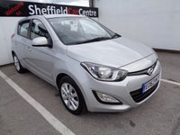USED 2013 63 HYUNDAI I20 1.2 ACTIVE 5d 84 BHP £105 A MONTH ELECTRIC WINDOWS ALLOY WHEELS AIR CON  CENTRAL LOCKING