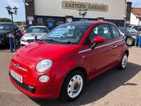 2013 FIAT 500 1.2 COLOUR THERAPY 3d 69 BHP £4495.00