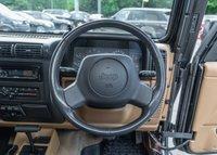 USED 1999 T JEEP WRANGLER 4.0 SAHARA 3d AUTO 174 BHP