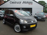 2013 VOLKSWAGEN UP 1.0 UP BLACK 5d - ALLOYS + SAT NAV £5990.00