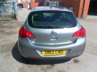 USED 2012 12 VAUXHALL ASTRA 1.6 EXCLUSIV 5d 113 BHP