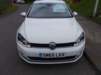 USED 2015 65 VOLKSWAGEN GOLF 1.6 MATCH TDI BLUEMOTION TECHNOLOGY DSG 5d AUTO 109 BHP ++1 OWNER FROM NEW++