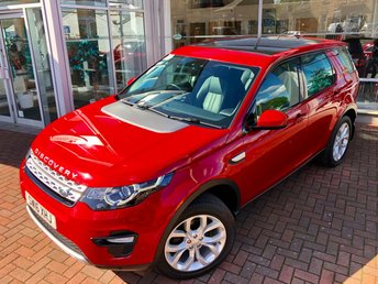 2016 LAND ROVER DISCOVERY SPORT 2.0 TD4 HSE 5d AUTO 180 BHP £22000.00