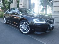 USED 2016 66 AUDI A8 3.0 TDI QUATTRO SPORT 4d AUTO 258 BHP ****FINANCE ARRANGED****PART EXCHANGE WELCOME***1OWNER*VIRTUAL COCKPIT*BOSE*LEATHER*CRUISE*NAV*AIR SUSPENSION