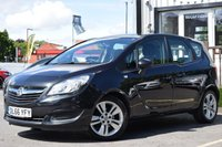 USED 2016 66 VAUXHALL MERIVA 1.4 CLUB 5d 118 BHP Full Service History by Vauxhall 2 Stamps .