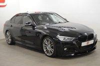 USED 2014 14 BMW 3 SERIES 3.0 335D XDRIVE M SPORT 4d AUTO 309 BHP PRO NAV + XDRIVE + LEATHER + BMW HISTORY + FINANCE + PART EX