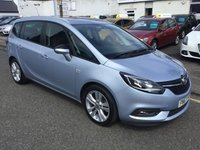 USED 2017 67 VAUXHALL ZAFIRA TOURER 1.4 SRI NAV 5d 138 BHP OUR  PRICE INCLUDES A 6 MONTH AA WARRANTY DEALER CARE EXTENDED GUARANTEE, 1 YEARS MOT AND A OIL & FILTERS SERVICE. 6 MONTHS FREE BREAKDOWN COVER. CALL US NOW FOR MORE INFORMATION OR TO BOOK A TEST DRIVE ON 01315387070 !!