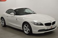 USED 2012 12 BMW Z4 2.0 Z4 SDRIVE20I ROADSTER 2d 181 BHP LOW MILES + WHITE + BLACK LEATHER + FULL HISTORY