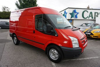 2014 FORD TRANSIT 350 2.2 TDCI 125 MEDIUM TREND 5DR ( 6 X FORD STAMPS & AIR CON ! ) £6689.00