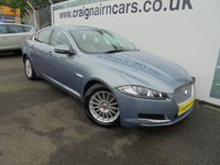 2013 JAGUAR XF 2.2 D SE BUSINESS 4d AUTO 163 BHP £11995.00
