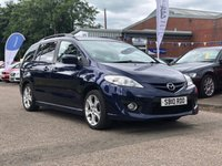USED 2010 10 MAZDA MAZDA 5 2.0 FURANO 5d 146 BHP 7 SEATS +  LEATHER +  CRUISE CONTROL +  CLIMATE CONTROL + FULL YEAR MOT +  SERVICE RECORD +