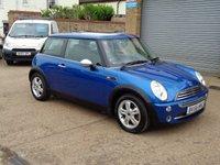 2006 MINI HATCH ONE 1.6 ONE 3d 89 BHP £SOLD