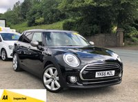 USED 2016 66 MINI CLUBMAN 1.5 COOPER 5d 134 BHP LOVELY CAR INSIDE AND OUT, CHILI AND MEDIA PACKAGE, SAT NAV, HALF LEATHER HEATED SEATS, BLUETOOTH, ADAPTIVE CRUISE CONTROL!