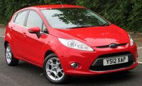 USED 2012 12 FORD FIESTA 1.25 ZETEC 5d 81 BHP Reverse Camera - LOW MILEAGE