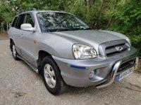 2005 HYUNDAI SANTA FE 2.0 CDX CRTD 5d 112 BHP £2490.00