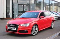 USED 2015 64 AUDI A3 2.0 TDI S line Sportback S Tronic 5dr